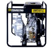 """Motobomba alta presión 3"""" DWP30FLE 10HP diésel partida eléctrica- Power Pro"""