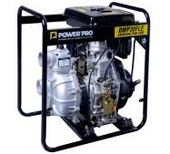 Motobomba Diesel Alta Presión 3″/10HP Partida Eléctrica DWP30FLE POWER PRO