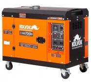 Generador eléctrico insonorizado monofásico diésel GS700D - 5,5KVA - Kolvok