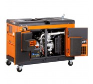 Generador eléctrico insonorizado - trifásico - diésel - GS12D3 - 11,5KVA - Kolvok