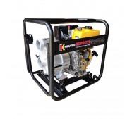 Motobomba partida eléctrica - diésel - trash 3X3 PE - Krafter