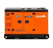 Generador eléctrico insonorizado monofásico diésel GSS14D - 12kVA - uso continuo - Kolvok