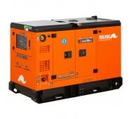 Generador eléctrico insonorizado trifásico diésel - uso continuo - GSS18D3 - 18kVA - Kolvok