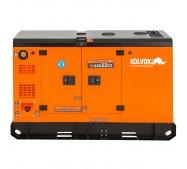 Generador eléctrico insonorizado trifásico diésel GSS22D3 - 22kVA - Kolvok