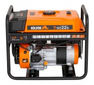 Generador Monofasico Abierto Gasolina GO22G - 2,2kVA - Kolvok