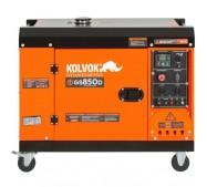 Generador eléctrico insonorizado monofásico diésel GS850D - 6,5kVA - Kolvok