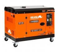 Generador eléctrico insonorizado monofásico diésel GS1200D - 12kVA - Kolvok