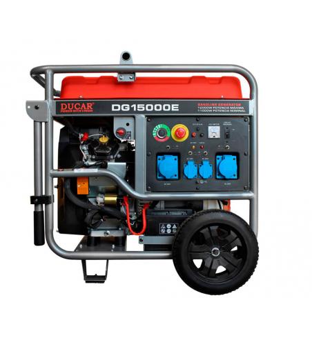 Generador Monofasico Gasolina - 11 Kva - Ducar